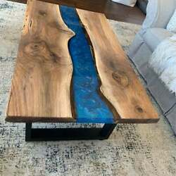 60 X 32 Epoxy Center / Coffee Table Top Resin Wooden Home Furniture