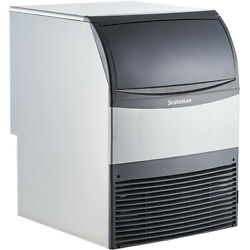 Scotsman Uc2024ma-1 Ice Maker With Bin, Dice Cubes, 227 Lbs/day