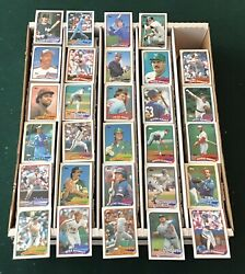 Huge Lot Of 4500+ Vintage 1989 Topps Baseball Cards-great Condition-lots Of Hofs