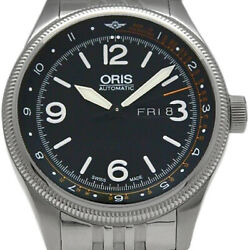 Oris Big Crown Royal Flying Doctor Service Mens Automatic Black Dial Secondhand