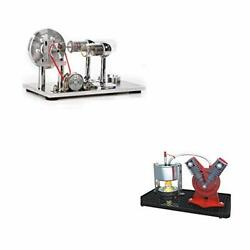 Hot Air Stirling Engine Motor Mini Hot Live Steam Engine Model Education Toy
