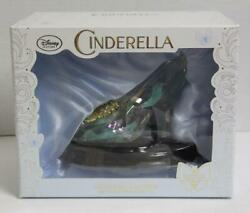 Disney Store 500 Limited Edition Cinderella Glass Shoes New
