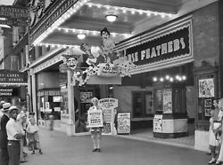 1932 Marx Brothers Horse Feathers Theater Street Lobby Display 8 X 10 Photograph