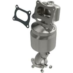 Catalytic Converter With Integrated Exhaust Manifold For 2014 Fits Honda Odyssey