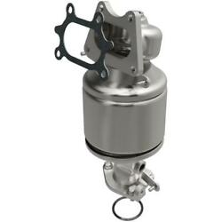 Catalytic Converter With Integrated Exhaust Manifold For 2007 Honda Ridgeline