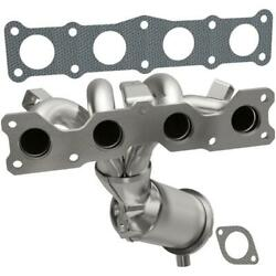 Catalytic Converter With Integrated Exhaust Manifold For 2006-2008 Hyundai Sonat