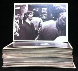 Beatles 1964 Complete Set Of 55 Hard Day's Night Movie Trading Cards