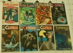 Lois Lane 1 And 2 Catwoman 1 2 3 4 Catwoman 2 1993 Catwoman Defiant Lot Of 8 Books