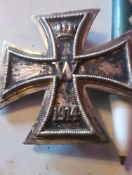 Ww1german Iron Cross 1st Class For Bravery In Combat Medal
