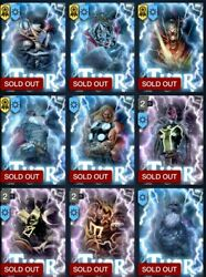 Topps Marvel Collect Complete Thorsday Set, 22 Cards, Awards, Varients Thor Jane