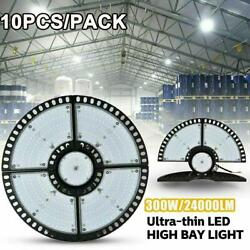 10x300w Ufo Led Highbay Light Commercial Industrial Factory Warehouse Chain Lamp