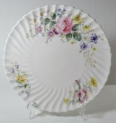 Royal Doulton Arcadia 11 Round Footed Cake Plate Excellent Older, Green Stamp