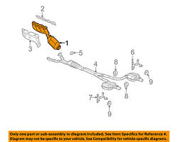 Cadillac Gm Oem 06-09 Sts-exhaust Manifold 12638993