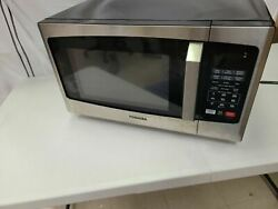 Toshiba Em925a5a-ss Sound On/off Eco Mode And Led Lighting Microwave Oven