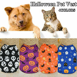 Halloween Dog Pet Clothing For Small Dogs Vest Shirt Puppy Costume Chihuahua
