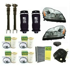 Custom Kit Shocks Springs Expansion Tank Air And Oil Filters For Mercedes