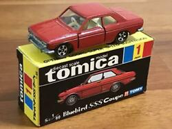 Tomica Black Box Made In Japan 1-1 Nissan Bluebird Sss Coupe