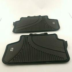 2017-2020 Bmw 5 Series G30/g31 And M5 F90 All Wheather Rubber Floor Liner Mats 4pc