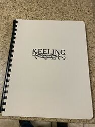 Vintage Lure Keeling Lures Reference Book .signed . Musk Have Book