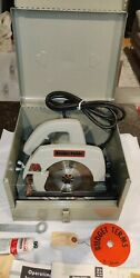 Porter Cable - Rockwell Circular Saw 7 Inch Model 170 With Box - Vintage And Rare