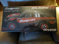 Traxxas Snap-on Limited Edition Slash 4x4 New Sealed Box Rc Truck Electric
