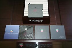 Tag Heuer Watch Instruction Booklet Manual Warranty Tiger Woods Gmt Calibre 5 7