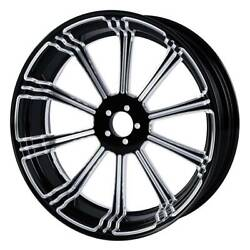 Motorcycle 18 X 5.5 Rear Wheel Rim With Hubs For Harley Touring Non Abs 2009-2
