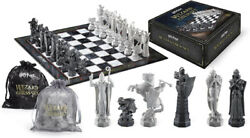 The Noble Collection Harry Potter Wizards Collectors Edition Chess Set Brand New