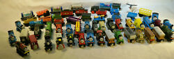Thomas The Train And Friends Cars Engines Wooden Character Toy 60 Lot