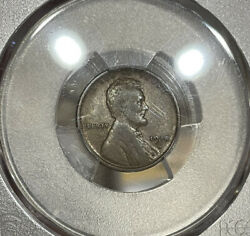 1914-d Pcgs F15 Lincoln Wheat Cent Penny 1c
