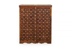 Mogra Antique Brass Work Solid Wood Brass Royal Bar Made To Order