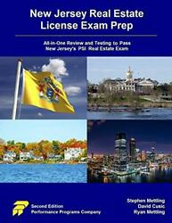 New Jersey Real Estate License Exam Prep All-in-one Review And Testing To...