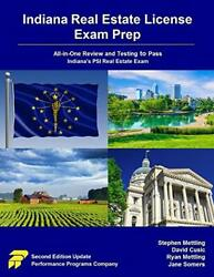Indiana Real Estate License Exam Prep All-in-one Review And Testing To Pass...
