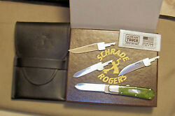 Schrade Sro1 Rogers Blade Changer Knife 055 Made In The Usa Nib Rare