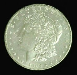 1894-o Morgan Silver Dollar Unc Cleaned Scratched  959