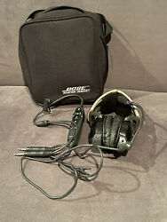 Bose Aviation Headset X With Case