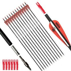 targeting arrows 30 28quot; Inch Carbon Practice With Removable For Youth Compound