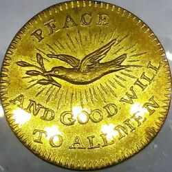1801 Kettle Peace 1801-4b R-4 Goodwill To All Men The Desire Of The People