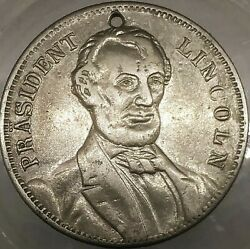 1864 A Lincoln 1000 / 1055n R-9 Eagle Us Campaign Of 1864 U S Counter Token