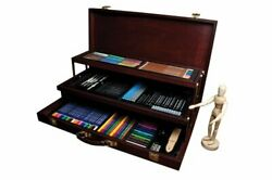 Royal And Langnickel Premier Sketching And Drawing Deluxe Art Set 134-piece