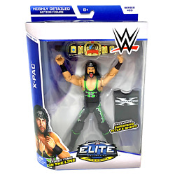 Mattel Toys Wwe Elite Collection Series 33 X-pac Wrestling Action Figure