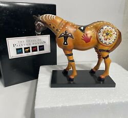 Trail Of Painted Ponies 'ghost Horse' Item No. 1599 1e/0417 Low Number