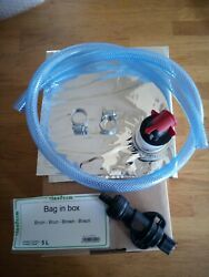 Beer In Box+ Vitop Connector+ Hose+ Hose Clips Ready To Go To Angram Style Pump