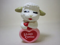 Things At The Time Young Epoch Lamb Chop Soft Vinyl Doll Piggy Bank Sheep