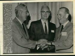 1968 Press Photo Southern Newspaper Publishers#x27; new leaders elected Boca Raton