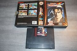 Samurai Shodown Ii 2 Neo Geo Aes English With Case Great Shape Dog Tag