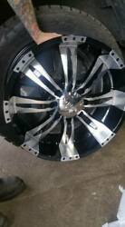Hummer H2 Wheel And Tire Set Nitto Tires 22 Rims