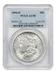 1894-o 1 Pcgs Au58 - Better Date From New Orleans - Morgan Silver Dollar