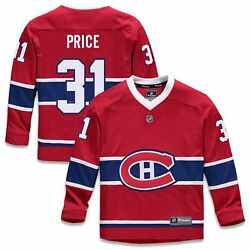 Carey Price Montreal Canadiens Fanatics Branded Youth Replica Player Jersey -