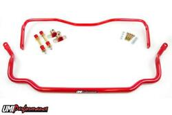 Umi Performance 78-88 Monte Carlo Solid Front And Rear Sway Bar Kit